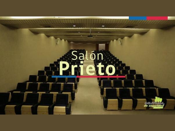 Vías De Evacuación Salón Prieto